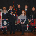 The Lord Mayor of Bradford, Councillor Khadim Hussein with some of our band members.